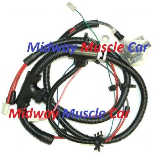 engine wiring harness 75 76 77 78 79 Chevy Camaro Nova Midway