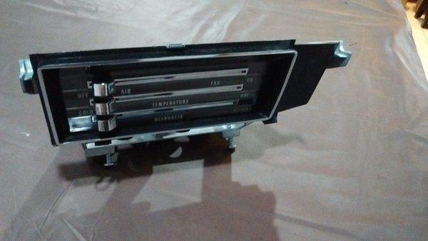 Heater Control Assembly W  O A  C 66 67 Chevelle El Camino