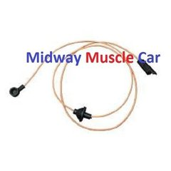 chevy electrical wiring harness midway muscle car fuel gas tank level sender sending unit wire wiring harness 70 73 camaro t