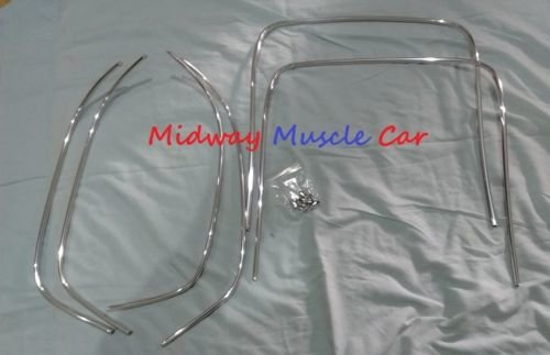 Mustang Wiring Harness Retainer Kit 36 Piece Kit 19671968 Ebay