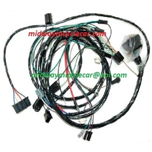 front end headlight l wiring harness 68 oldsmobile cutlass hur midway car