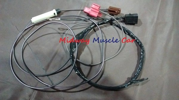Hood Tach Feed Wiring Harness W   Hei To Tachometer 69 70 71 72 Po