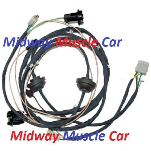 chevy s10 tail light wiring harness rear body panel tail light wiring harness 64 65 66 67 ...