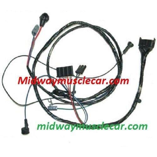 hei engine wiring harness v8 65 pontiac gto lemans tempest w o a midway car