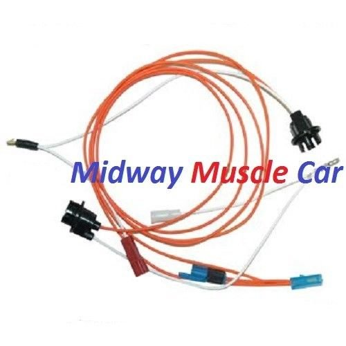 under dash courtesy light wiring harness 70 71 72 chevy ... 72 chevy dash wiring 72 corvette dash wiring diagram