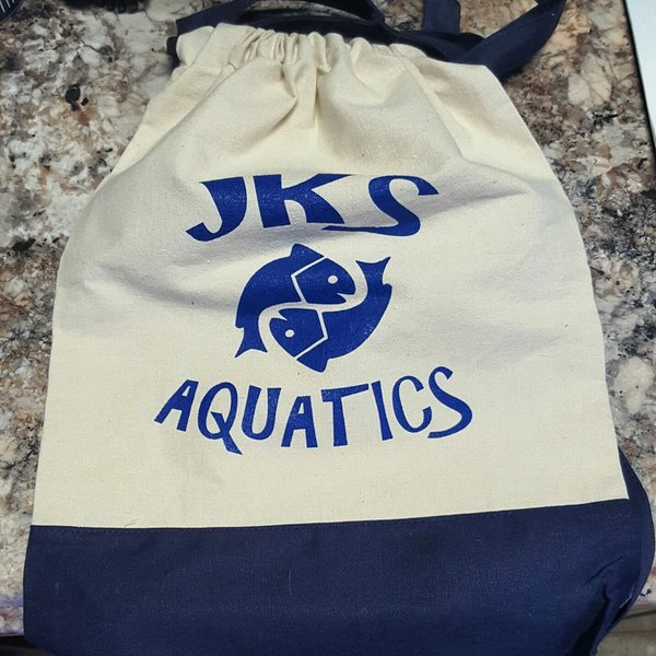 JKS Aquatics Soft Pull String Bag
