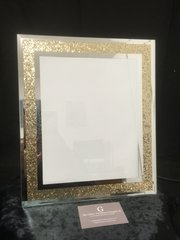 Stunning gold sparkle photo frame 5 x 7 inch photo