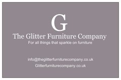 Beautiful glitter pipe cushion - create your own combination