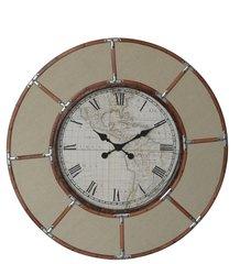 Beautiful large Cream round wall clock 82.5cm