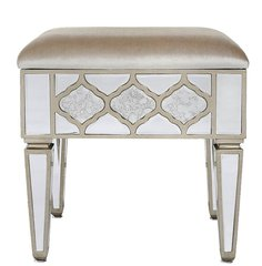 Beautiful Dubai collection mirror stool