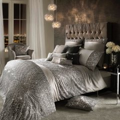 beautiful Kylie at Home Esta Silver Bedding - size options