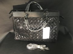 Stunning limited addition Alex max black sequin handbag