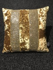Beautiful Ava Lustro gold- silver/gold glitter mix scatter cushion