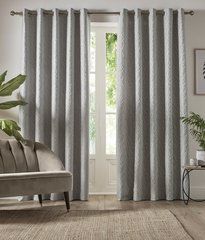 Beautiful Vitta lined eyelet curtains - colour options
