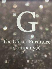 Stunning silver disco glitter makeup bag - velvet lined