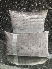 mink cushion set - sparkle band wave effect scatter cushion