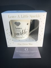 Leave a little sparkle where ever you go - sparkle cup