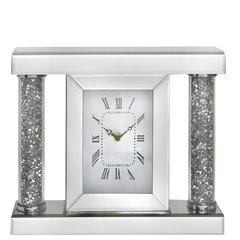 Stunning Magna mirror and crystal table clock