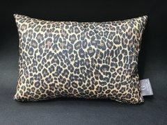 Stunning glitter Claira Leopard natural animal print scatter