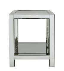 Stunning Crushed Sparkle and mirror end table