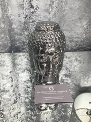 Titanium Silver buddha - medium