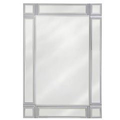 beautiful silver wood collection - wall mirror