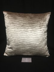 Beautiful camel velvet wave scatter cushion