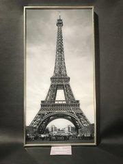 GLITTER PICTURE WALL ART EIFFEL TOWER framed