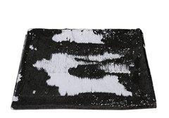 Beautiful Mermaid sequin bed throw - Black & White