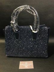 Stunning front crystal Alex Max® Navy blue handbag - limited addition
