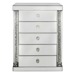Stunning Magna 5 drawer mirror and crystal jewellery box