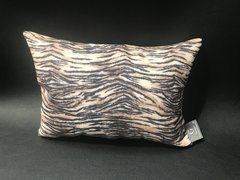 stunning Claira glitter Tiger animal print - natural scatter cushion