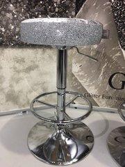 Beautiful Glitter & Velvet barstool - colour options