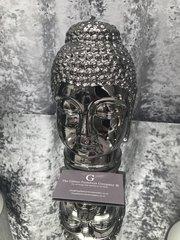 Titanium Silver Buddha - Large