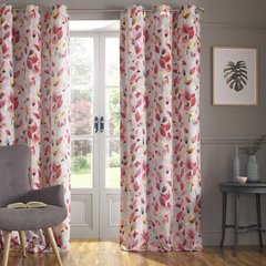 Beautiful Shola lined eyelet curtains - colour options