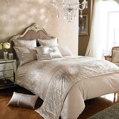 Stunning Kylie at Home Jessa Blush Bedding - size options