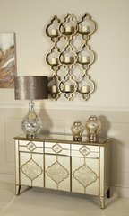 Stunning Dubai collection mirror sideboard