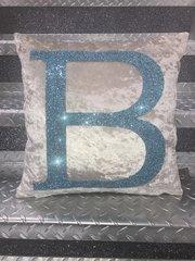 Stunning Baby Reveal glitter scatter cushions Boy & Girl option