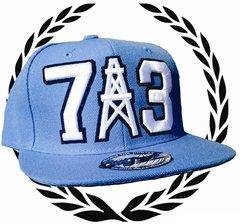 UCOG Streetwear Oilers Columbia Blue Snapback 713 BB