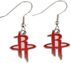 Houston Rockets Dangle Earrings