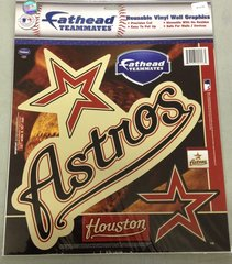 Houston Astros Fathead Teammates