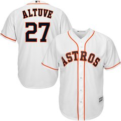 Houston Astros Jose Altuve Majestic Cool Base Player Jersey - White