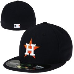 New Era Houston Astros 59FIFTY Authentic On-Field Performance Fitted Hat - Navy Blue