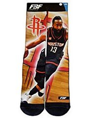 Houston Rockets James Harden For Bare Feet Center Court II Promo Socks