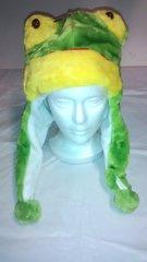 Winter Plush Animal Frog Hat With Lights & Animal Sounds