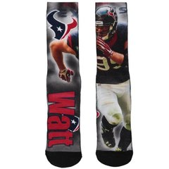 Houston Texans JJ Watt #99 NFL For Bare Feet Player Drive Sock
