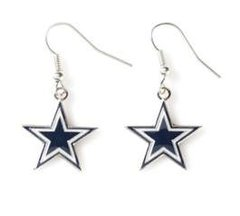 Dallas Cowboys Siskiyou Dangle Earrings