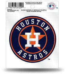 Houston Astros Rico Small Static Cling