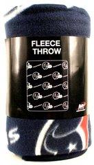 "Houston Texans 50""x60"" Repeater Style Fleece Throw Blanket"