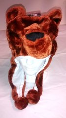 Winter Plush Animal Bear Hat With Lights & Animal Sounds